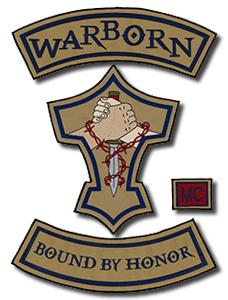 Warborn Motorcycle Club Logo
